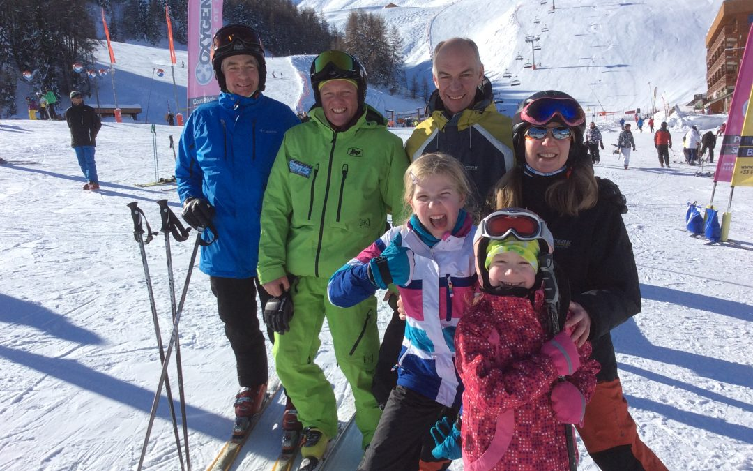 Ski Lessons for all abilities in La Plagne